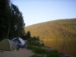 Camping Panguitch Lake