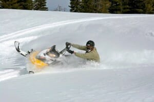 Snowmobilling Southern Utah
